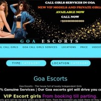 Goa Escorts  Independent Call Girls with Hotel *-* - brightescortscom