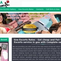 Affordable goa escorts services  call genuine rates call girls