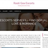Escorts in Goa Services  VIP Call Girls in Goa Escorts - rasiliin