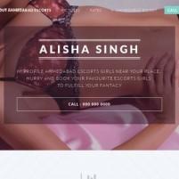 Ahmedabad Escort Service *-* Alisha Call Girls Services in Ahmedabad Escorts