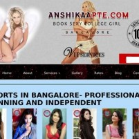 Bangalore Escorts Service  Find your Beauty Call girls here - anshikaapte.com