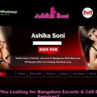 Bangalore Escorts Bangalore Call Girls Services  ashikasonicom