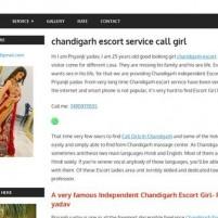 Chandigarh escort Chandigarh Call Girls - priyanjaliyadavbeauties.co.in