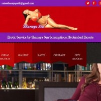 Erotic Service by Shanaya Sen independent Hyderabad Escorts - shanayasenin