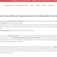 Hyderabad Escorts  High Profile College Girls amp Models *-* - modelsofhyderabadcom