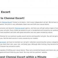 Best Chennai Escort  - Top Chennai Call Girls - poojakaur.com