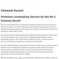 Best Chennai Escort - Hot & Sexy Call Girls *-*