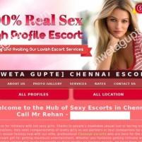 Chennai Escorts  Book High Profile Escorts in Chennai *x* - shwetagupte.com
