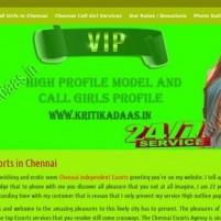 Chennai Escorts, Hot Escorts Service in Chennai Hotels - kritikadaas.in